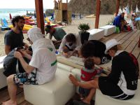 Workshop am Strand