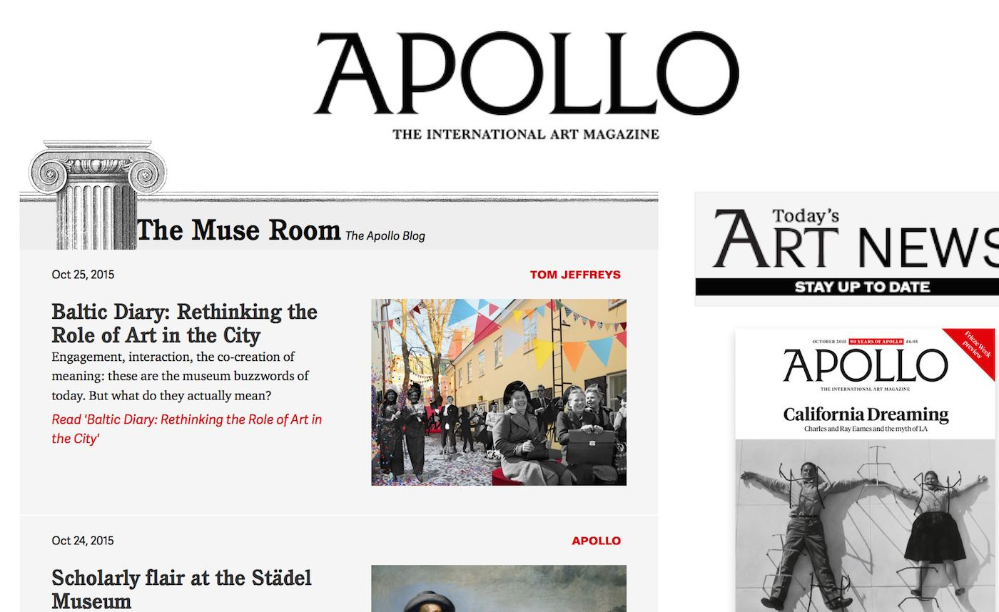 Apollo Art Magazine