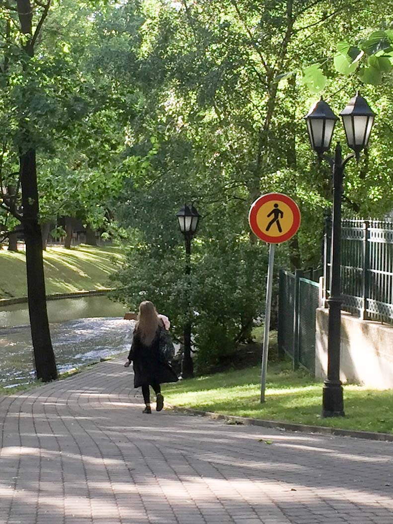road signs - Riga, Latvia