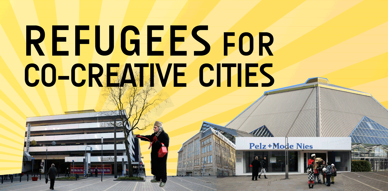 Refugees for Co-Creative Cities